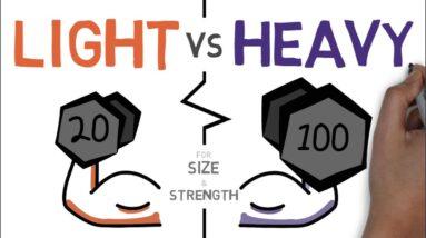 Heavy Vs Light Weights