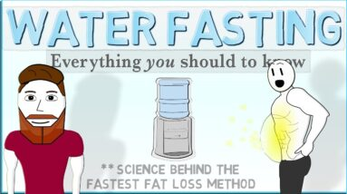 WATER FASTING: The Complete Guide (Fastest Fat Loss Method)