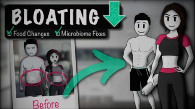 BLOATING: What Causes Stomach Bloating & How To Get Rid Of It (Food Choice, Microbiome, Probiotics)